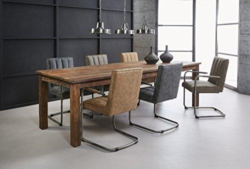 SalesFever Esszimmertisch aus recyceltem Holz 260 x 90 cm Luziano