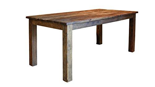 SalesFever Esszimmertisch aus recyceltem Holz 180 x 90 cm Luzio