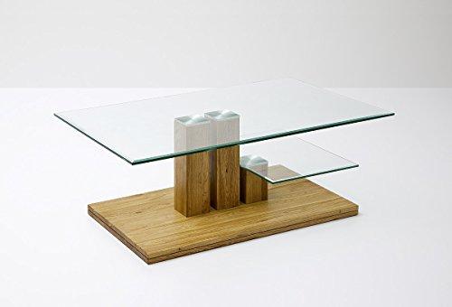 Robas Lund, Couchtisch, Wohnzimmertisch, PACO, Asteiche/Massivholz, 110 x 70 x 40 cm, 58797A14