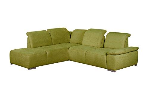 cavadore polsterecke tabagos funktionssofa mit ottomane links modernes sofa mit. Black Bedroom Furniture Sets. Home Design Ideas