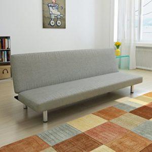 Anself Schlafsofa Sofa Schlafcouch Bettsofa mit Schlaffunktion 168 x 82 cm 2 Farbe Optional