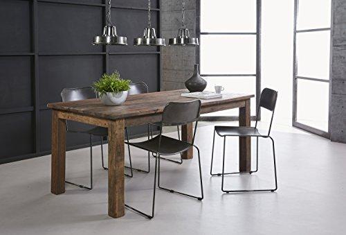SalesFever Esszimmertisch aus recyceltem Holz 220 x 90 cm Luzian