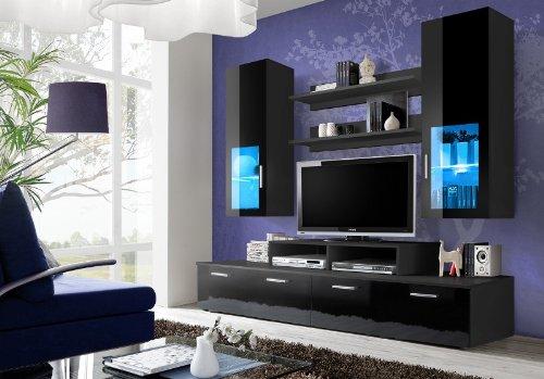 Mini Night/TV Unterschrank/TV steht/Wohnwand/TV Schrank/LED 's
