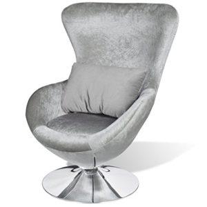Anself Drehstuhl Sessel Sitzei mit Kissen 2 Farbe Optional
