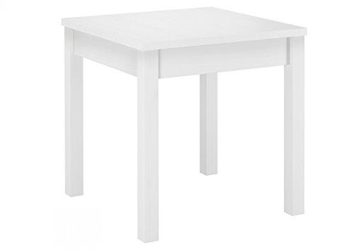 Erst-Holz® 90.70-52 W Set Schöne Essgruppe mit Tisch und 2 Stühle Kiefer Massivholz