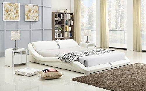i-flair® - Polsterbett 180x200 cm T0W Weiß - alle Größen #68