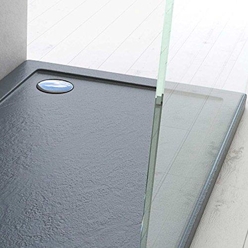 Gcl Duschwanne 120x70x4 Acryl Rechteckig Mod. Stone UltraSlim