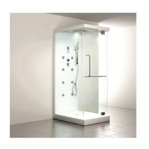 Home Deluxe Design M Duschtempel, inkl. Dampfdusche