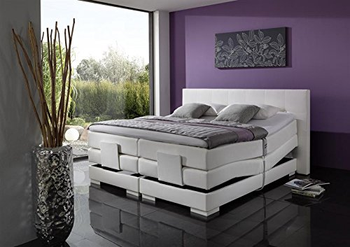 Breckle Boxspringbett 180 x 200 cm Oxford Box mit Stauraum 500 Hollanda 1000 Gel Topper Gel Comfort