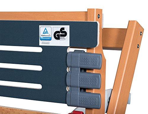 FMP Matratzenmanufaktur 23-0003 7 Zonen Lattenrost Rhodos EL - Kopf- und Fußteil elektrisch verstellbar 44 Leisten Lattenroste Mittelgurt 100x200 cm