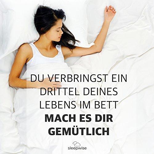 """sleepwise Soft Wonder"""" Bettwäsche   Extra-Kuschelig, Atmungsaktiv, faltenfrei, Hypoallergen   Ganzjahres Bettbezug-Set   2teilig - 135x200cm und 80x80cm Kissenbezug   Taupe/Weiß"""