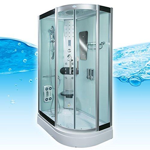 AcquaVapore DTP8060-7000R Dusche Duschtempel Komplett Duschkabine 80x120