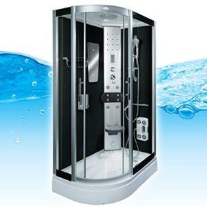 AcquaVapore DTP8060-7302L Dusche Dampfdusche Duschtempel Duschkabine 120x80, EasyClean Versiegelung der Scheiben:Nein! +0.-EUR