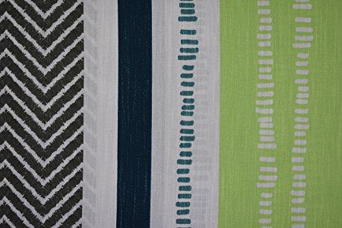 Bierbaum Bettwäsche Renforce 100% Baumwolle 135 x 200 + 80 x 80 Grün Blau Grau
