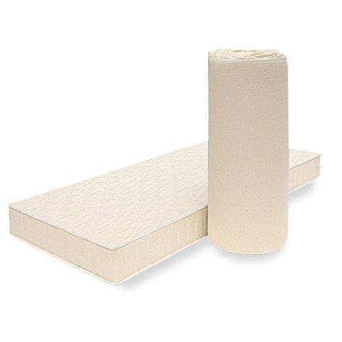 Breckle POLY Orthopädische Matratze mit Klimafaser-Bezug für jede Jahreszeit geeignet Markenware Grösse 100x200