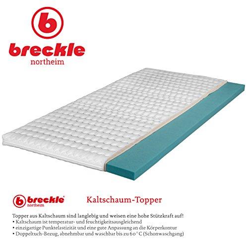 Breckle Kaltschaum-Topper, Größe:180x200 cm