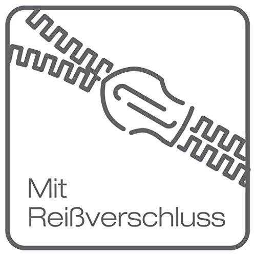 Bierbaum 6532_04 Seersucker-Bettwäsche Dessin, 135 x 200 cm, 80 x 80 cm, Himbeer
