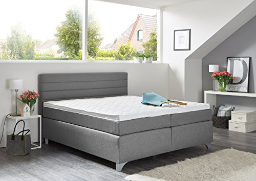 Boxspringbett Breckle Arga Top (180 x 200 cm, inkl. Topper)