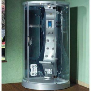 Aqualuxbad Dusche   Dampfdusche   in weiß   Sonderangebot