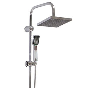 Duschpaneel Dusch Set Duschsäule Regendusche Brausegarnitur für Bad Wellness Neu