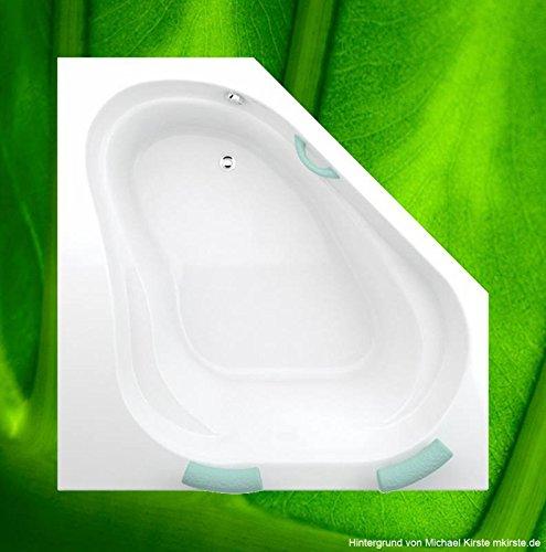 Badewanne 150x150 KORFU - Acryl Eckbadewanne