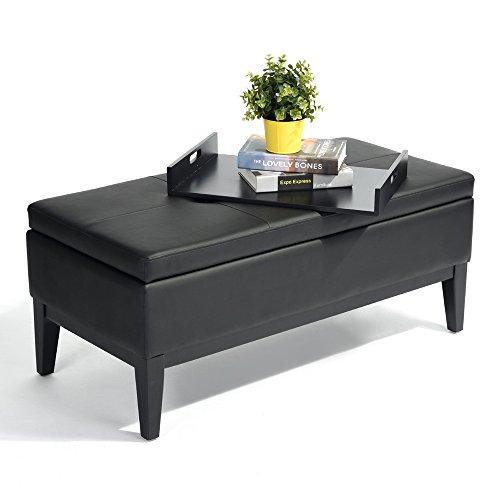 FURNISH 1 Design Couchtisch Glasplatte Schwarz/Gestell Kupfer | Wohnzimmertisch verspiegelt Sofatisch Modern | Kaffeetisch Nachttisch Schwarz