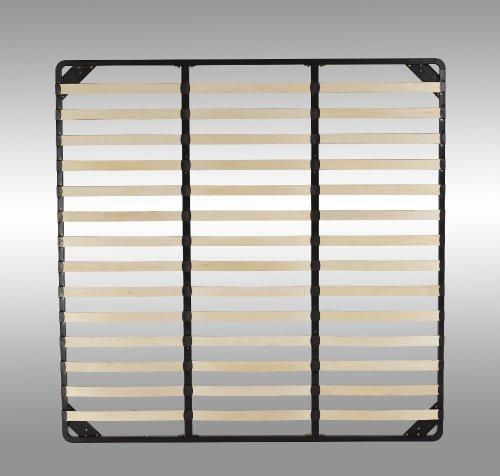 Lattenrost, Rost, Rahmen, Lattenrahmen mit stabilem Stahlrahmen VARIATION (200cm x 200cm)