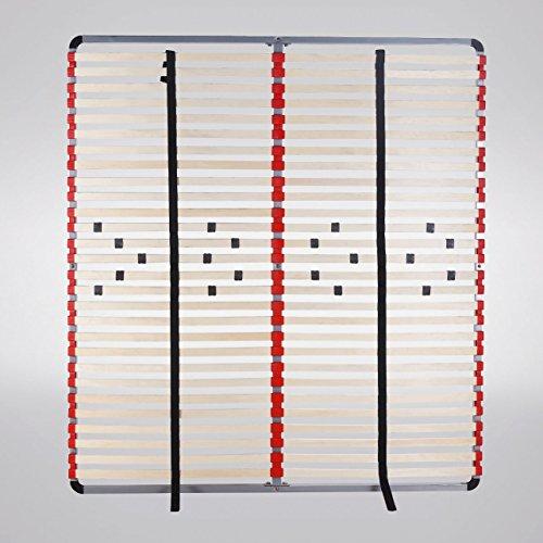 i-flair® - Lattenrost, Lattenrahmen - für alle Matratzen geeignet (180cm x 200cm)