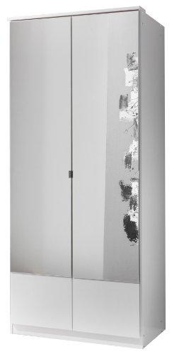 Wimex Kleiderschrank/ Drehtürenschrank Imago, 2 Türen, (B/H/T) 90 x 199 x 58 cm, Weiß